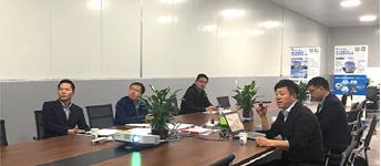 衢州市柯城区委常委、副区长黄宏瞻一席领导考察鸿盛环保集团