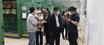 【领导来访】辽宁省科学技术厅副厅长王学来等领导莅临指导