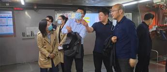 【领导来访】辽宁省科学技术厅高新处处长沈宁等一行领导莅临鸿盛集团